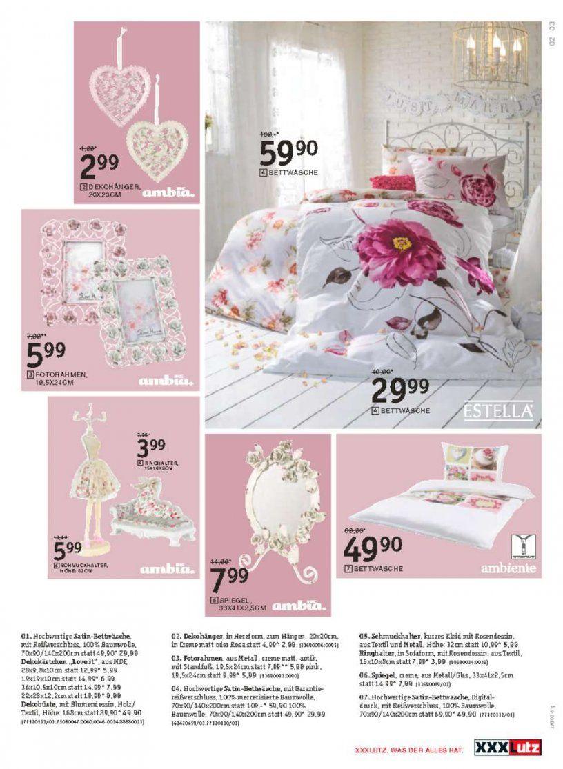 Xxx Lutz Angebote  20% Auf Zierkissen Bettwäsche Deko  Seite No von Xxl Lutz Bettwäsche Photo