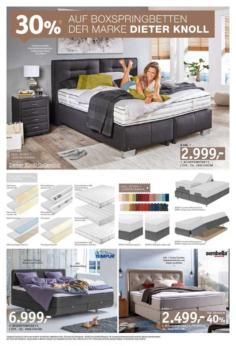 dieter knoll boxspringbett haus design ideen. Black Bedroom Furniture Sets. Home Design Ideas