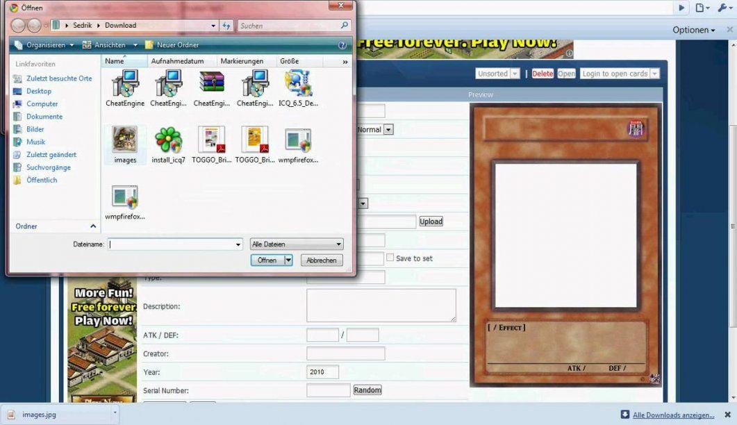 Yugioh Karten Zum Selber Machen  Youtube von Yugioh Karten Selbst Erstellen Photo