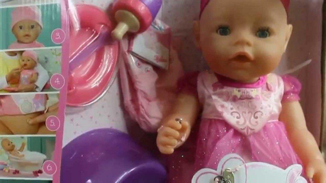 Zapf Creation  Baby Born  Lalka Interaktywna Księżniczka von Baby Born Interactive Waschtisch Photo