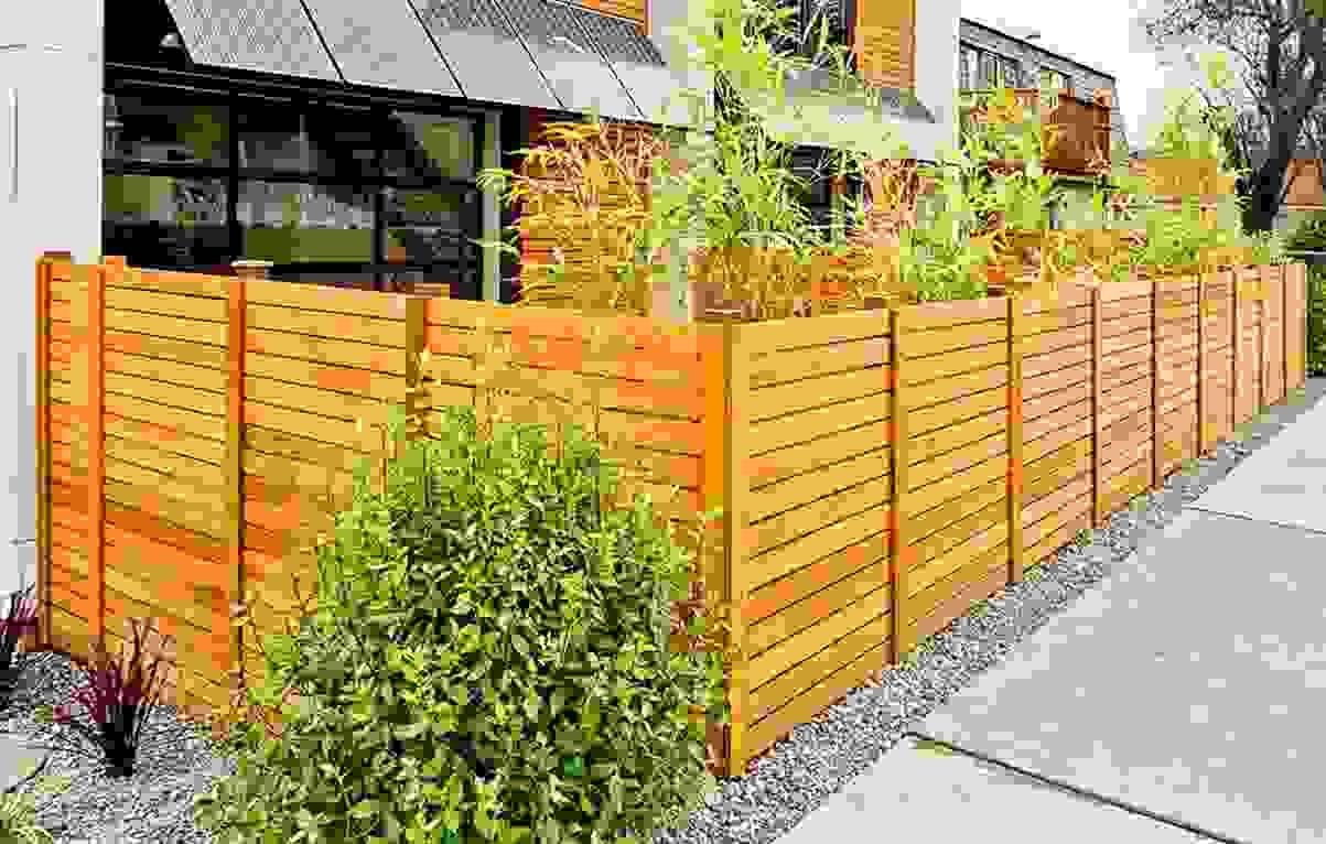 Zaun Bauen Gartenzaun Selber Bauen Selbstbauzune Zaun Selber Bauen von Holzzaun Am Hang Bauen Bild