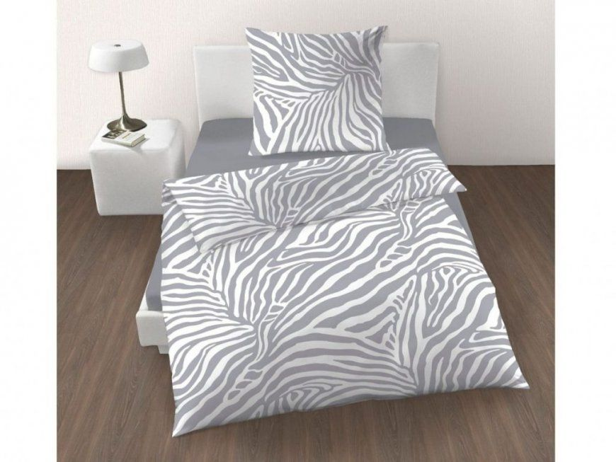 Zebra Bettwäsche H&m  Bsgmedia von H&m Bettwäsche 155X220 Bild