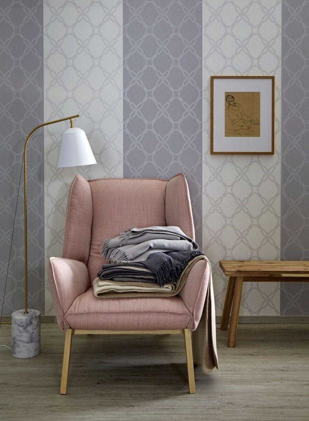 Zeit Für Einen Tapetenwechsel  Schöner Wohnenkollektion  Rosa von Tapeten Schöner Wohnen Kollektion Bild