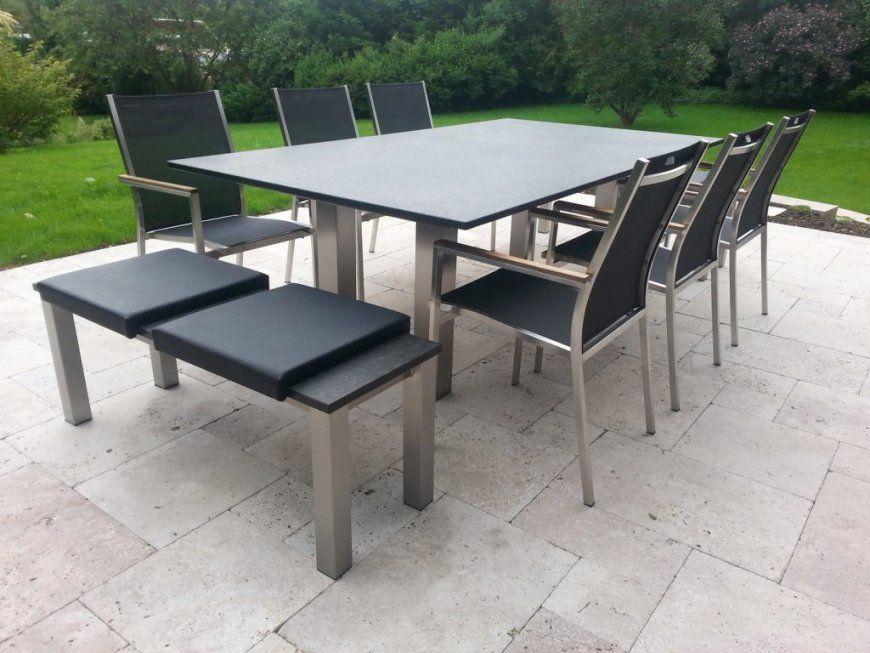 Zeitgenössisch Gartentisch 12 Personen Granit Gartentische Aus von Gartentisch Für 12 Personen Photo
