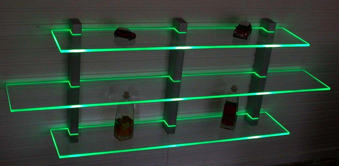 Zeitgenössisch Regal Mit Indirekter Beleuchtung Selber Bauen Ikea von Plexiglas Beleuchtet An Der Wand Photo