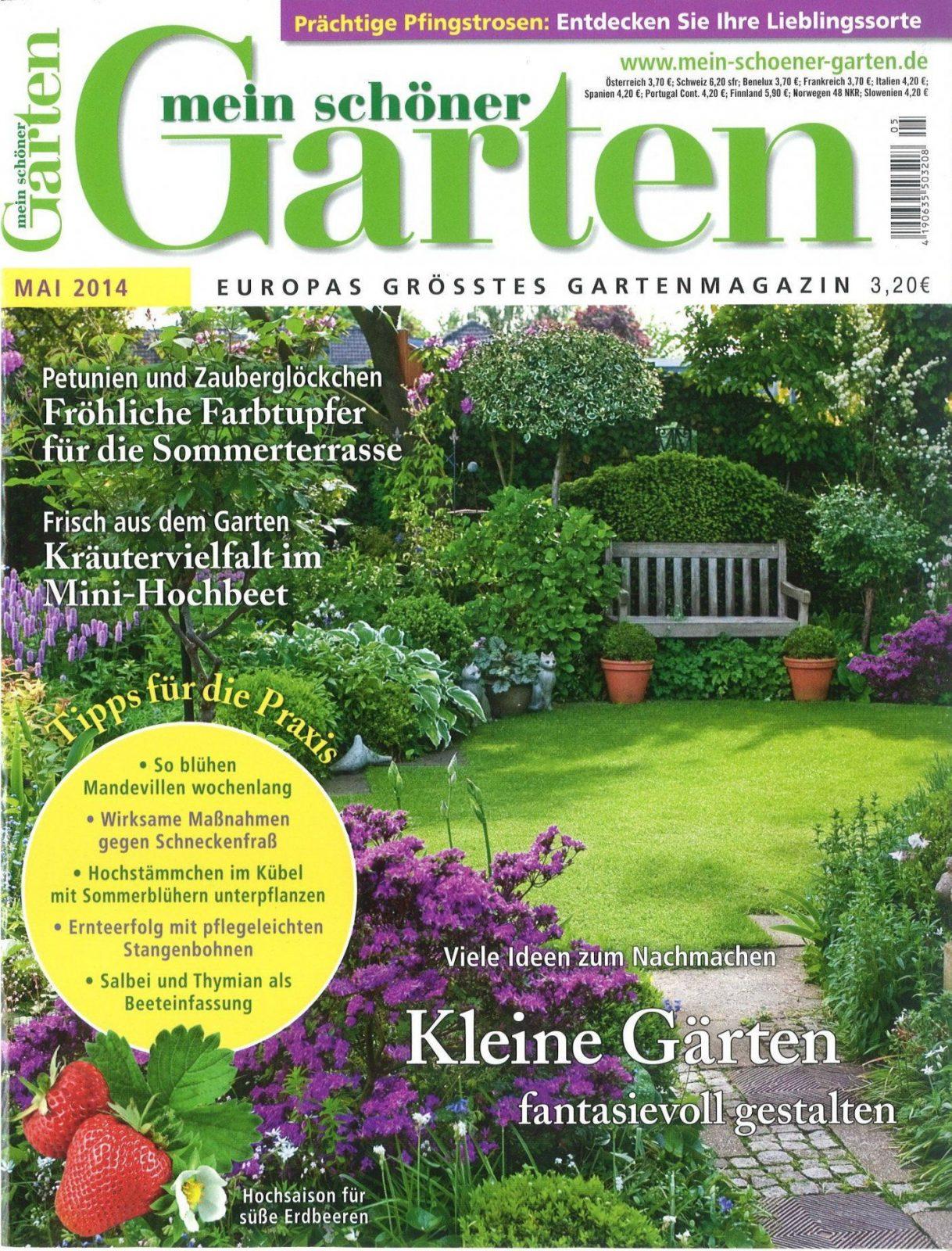 Zeitschrift Mein Schöner Garten von Mein Schöner Garten Deko Bild