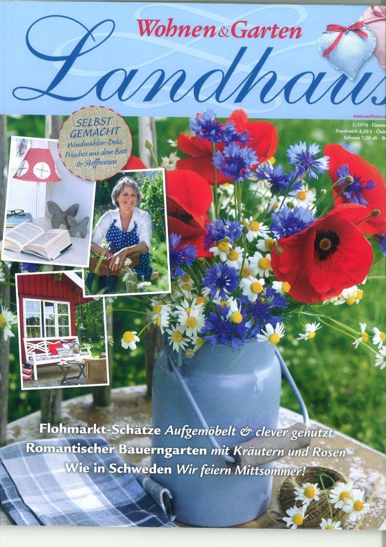 ... Zeitschrift Wohnen U0026amp; Garten U0026quot;landhausu0026quot; Und Mehr Von  Landhaus ...