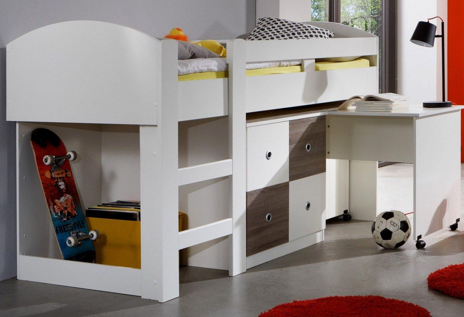Ziemlich Kinderbett Mit Schreibtisch Oben Bett Zum Hochbett Schrank von Kinderbett Mit Schreibtisch Und Kleiderschrank Bild