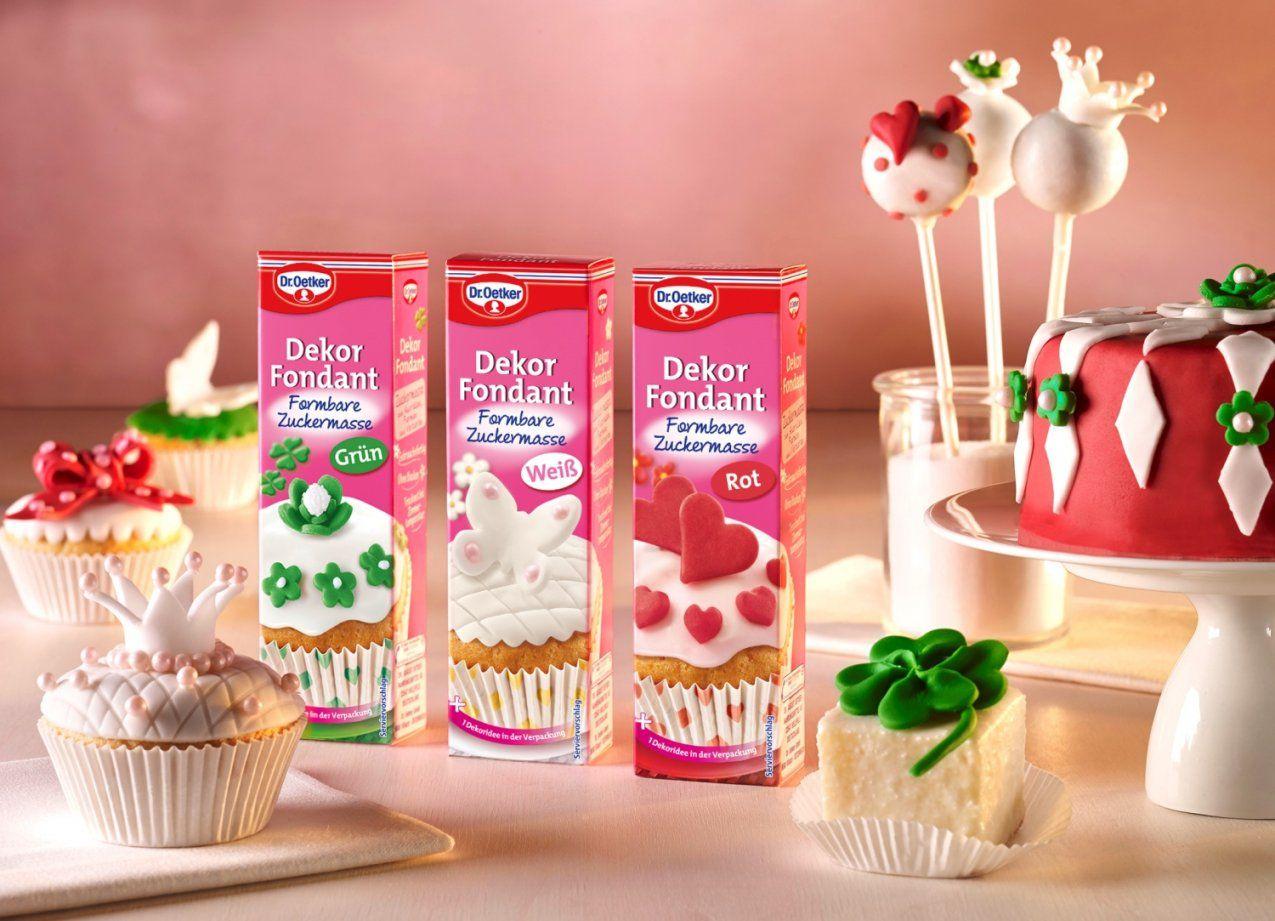 Zuckersüße Ideen Für Das Kuchenbuffet  Dawanda Blog von Dr Oetker Kuchen Deko Bild
