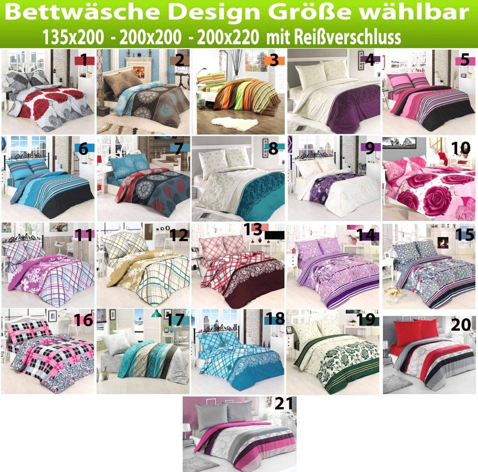 Zufriedenheit Inspiration Bettwäsche 200×220 Günstig Und Herrliche von Bettwäsche 200X220 Günstig Bild