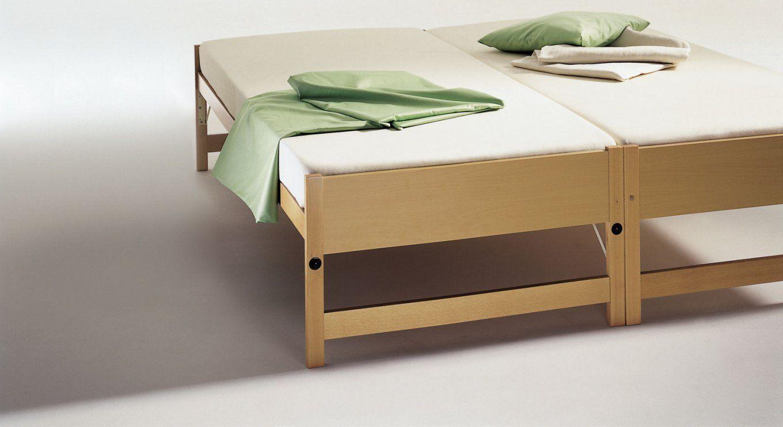 Zwei Betten Gleicher Größe  Unser Ausziehbett On Top von Bett Ausziehbar Gleiche Höhe Photo