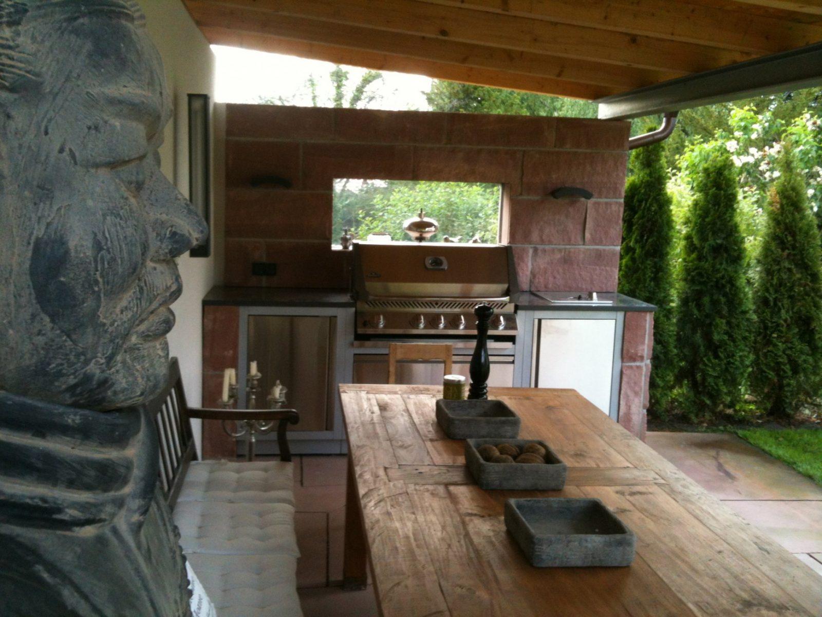 Gartenküche Mit Dem Oasis System Von Napoleon von Gartenküche Selber Bauen Bild