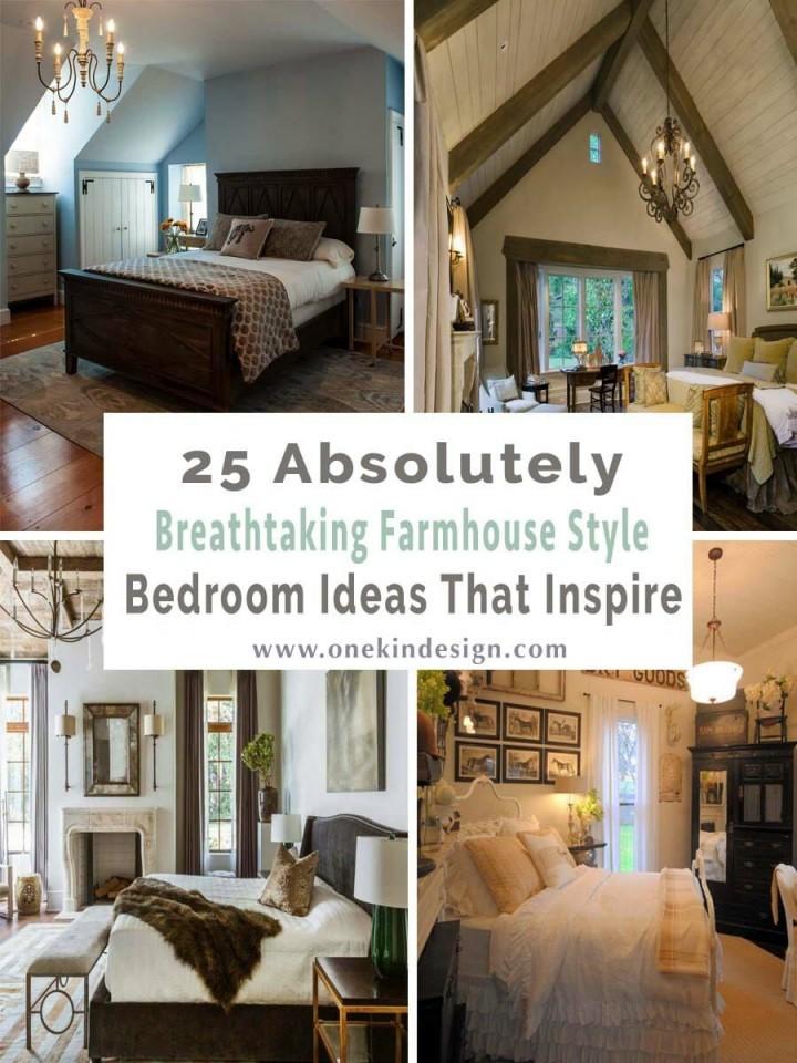 25 Absolut Atemberaubende Schlafzimmerideen Im Landhausstil von Landhaus Schlafzimmer Ideen Bild