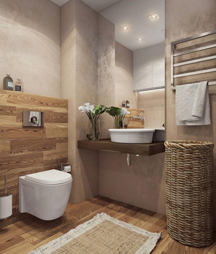 9 Kleine Badezimmer Die Du Sehen Solltest Bevor Du Deins von Badfliesen Ideen Kleines Bad Bild