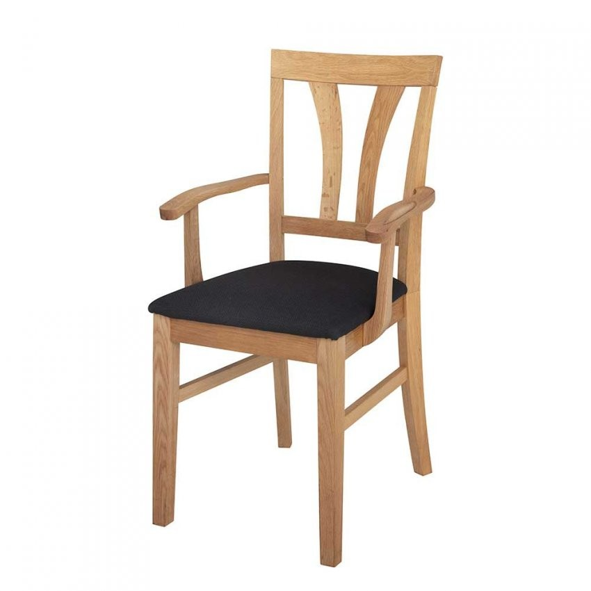 Armlehnen Esszimmerstuhl Aus Holz Eiche von Esszimmerstühle Holz Mit Armlehne Photo