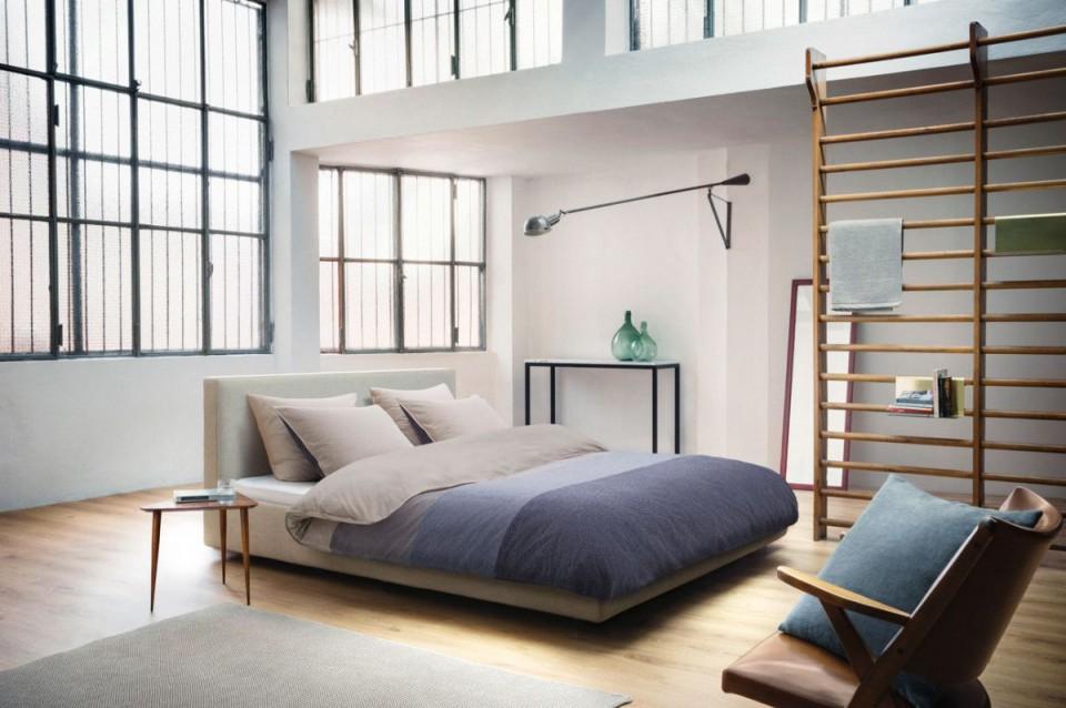 Ausgefallene Einrichtungsideen  Sprossenwand Im von Raumteiler Ideen Schlafzimmer Photo
