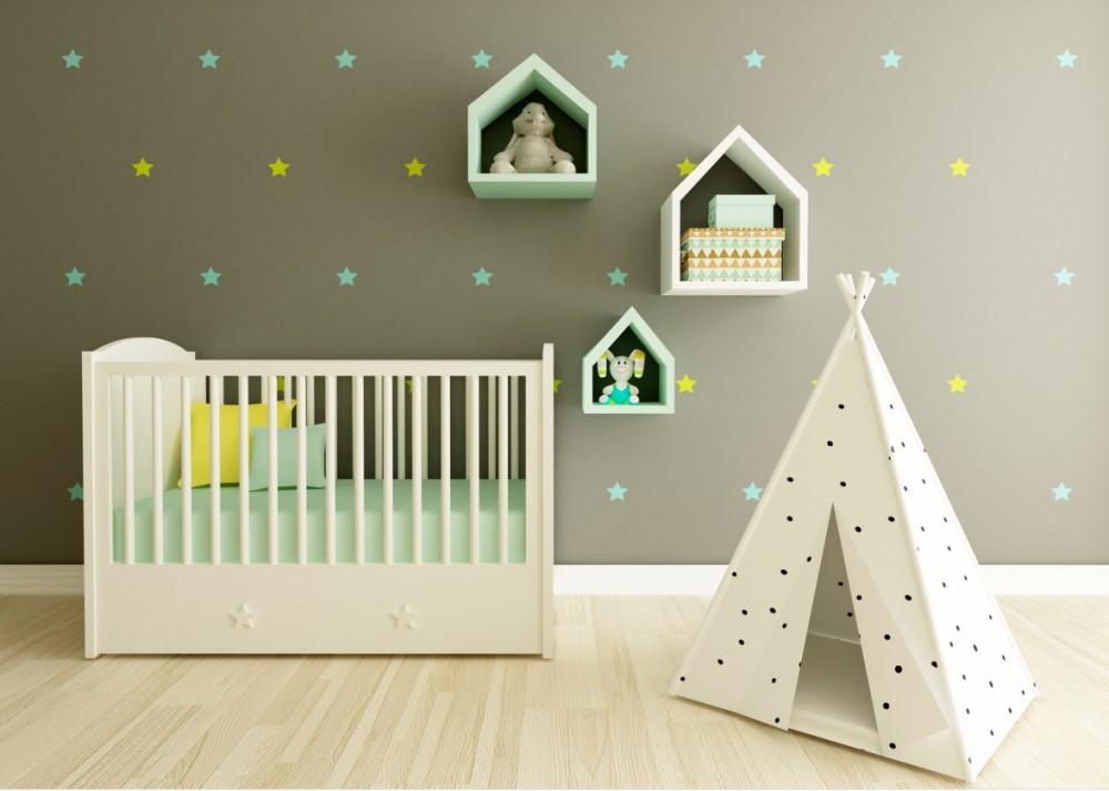Babyzimmer Gestalten 50 Dekoideen Für Jungen  Mädchen von Baby Dekoration Zimmer Bild