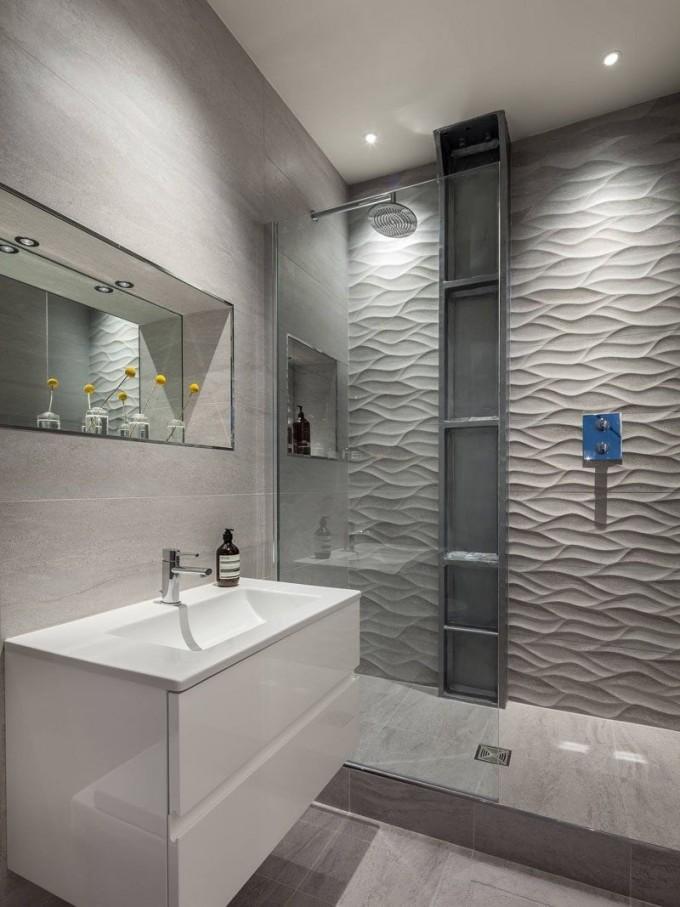 Badezimmer Fliesen Ideen Installieren 3D Fliesen Zu von Badezimmer Fliesen Ideen Bild