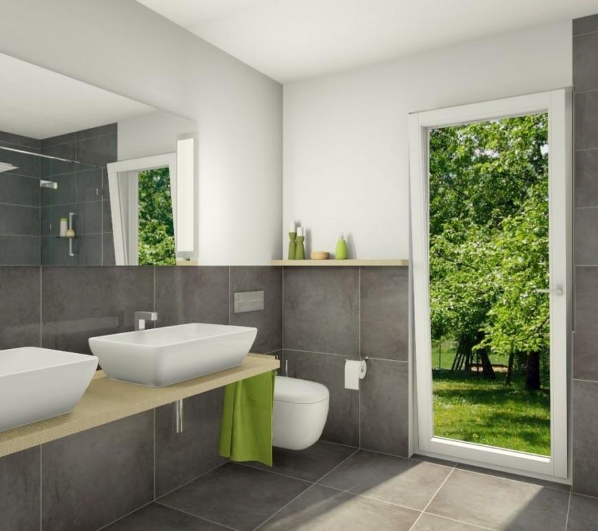 Badezimmer Hinreißend Bad Fliesen Anthrazit Weiß Ideen von Badezimmer Fliesen Design Ideen Photo