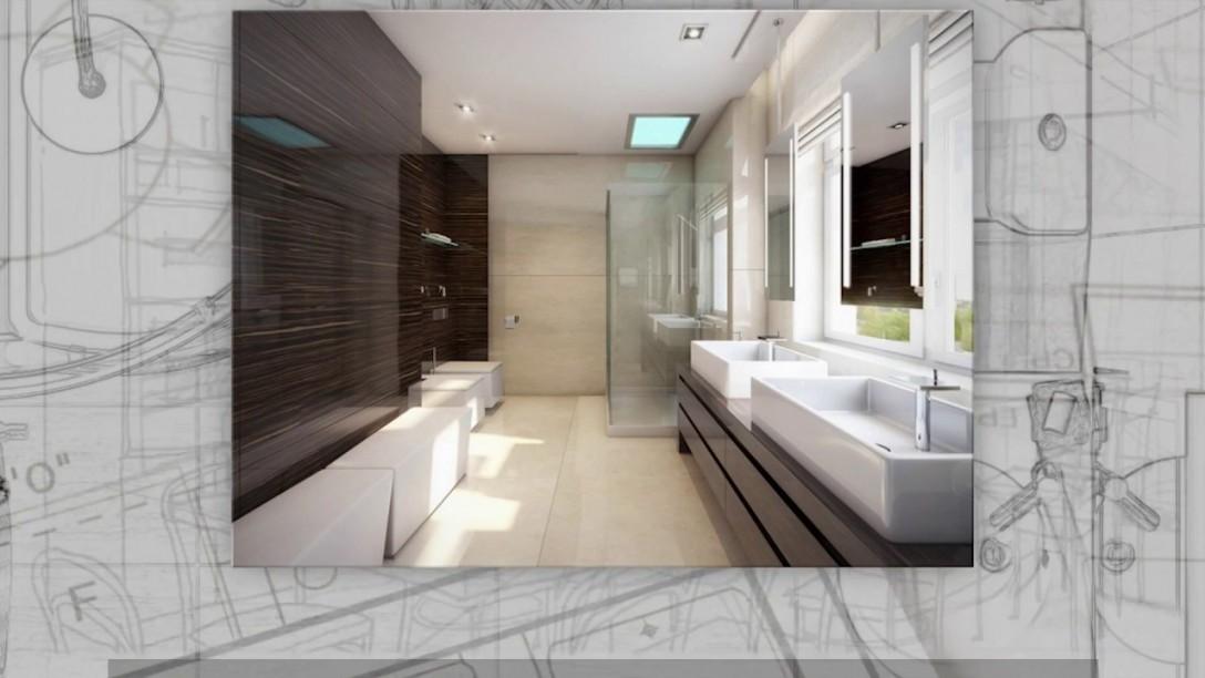 Badezimmer Ohne Fliesen  Ideen Für Fliesenfreie Wandgestaltung von Badezimmer Ideen Ohne Fliesen Bild