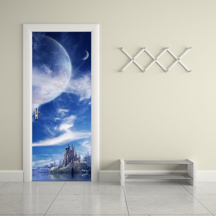Colomac 3D Wand Tür Aufkleber Selbstklebende Poster Renovierung Kreative  Wohnzimmer Schlafzimmer Haus Muster Dekoration Zubehör von Dekoration Schlafzimmer Wand Bild