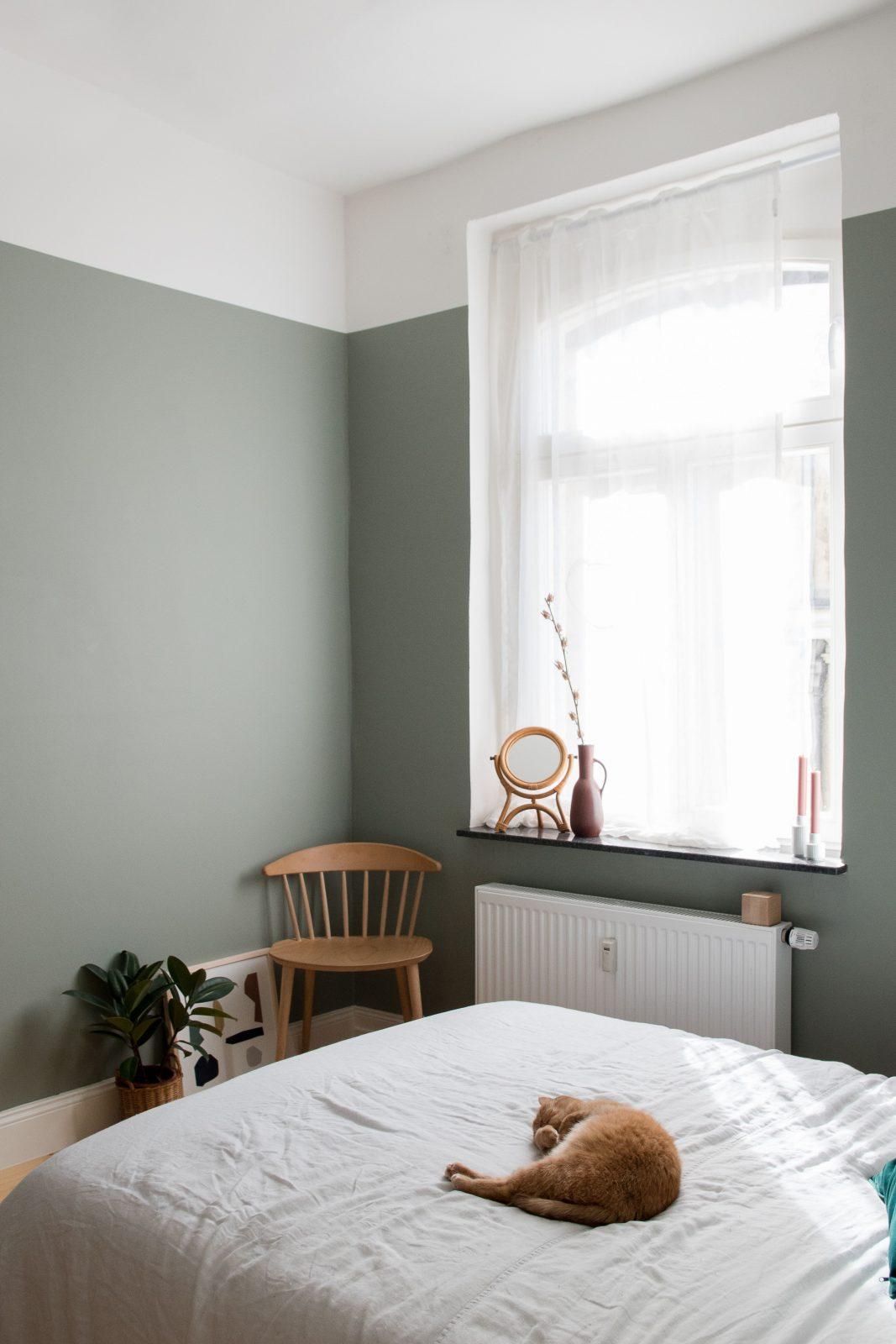 Das Ist Die Perfekte Wandfarbe Für Das Schlafzimmer + von Schlafzimmer Wandfarbe Ideen Photo