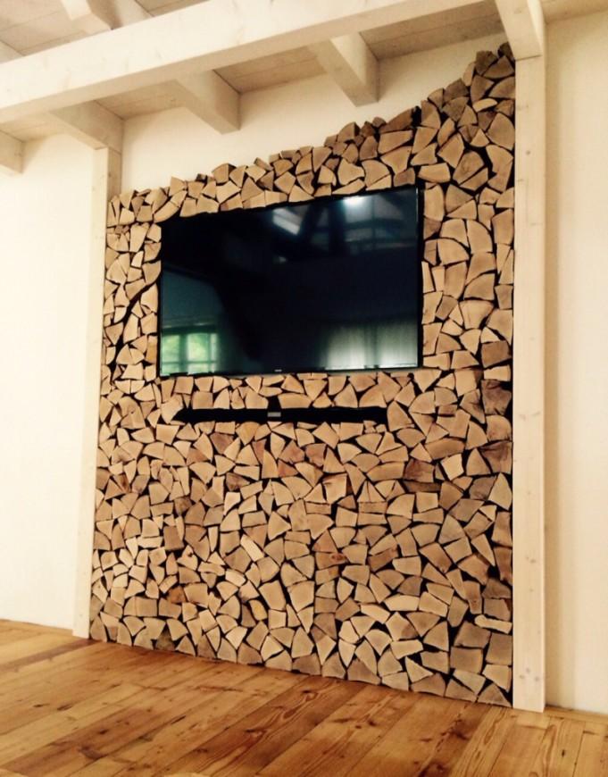 Deko Idee Holz Design Avec Deko Ideen Holz Et Kleines Deko von Holz Dekoration Wand Bild