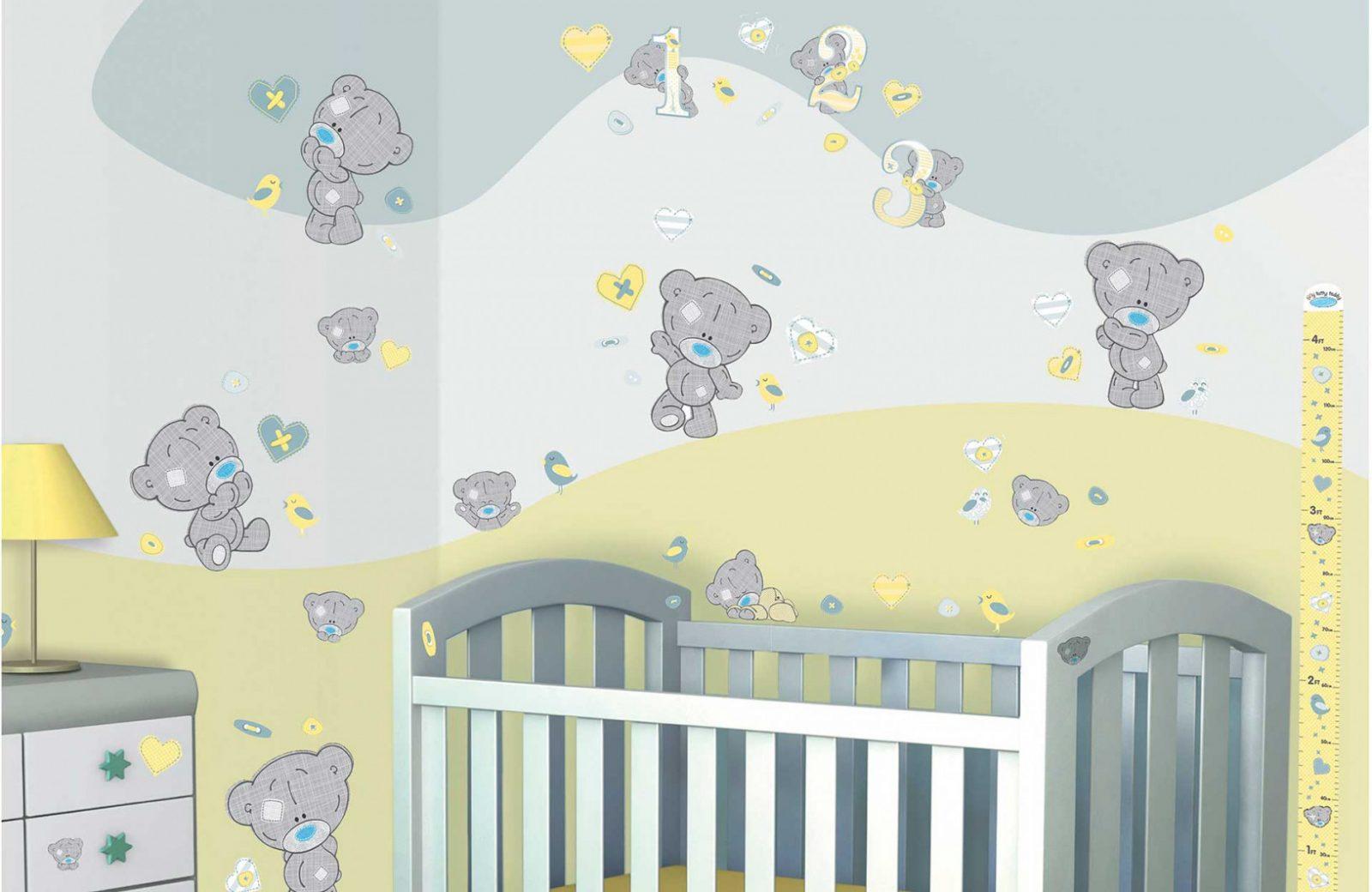 Dekoration Wandsticker Kinderzimmer von Baby Dekoration Zimmer Bild
