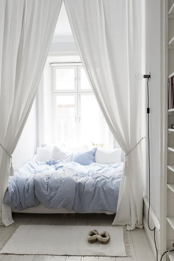 Die 25 Besten Himmelbett Vorhang Ideen Auf von Schlafzimmer Vorhang Ideen Bild