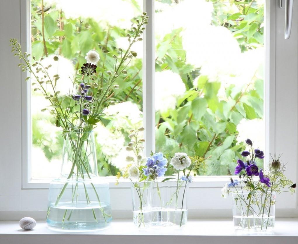 Die Schönsten Ideen Für Die Fensterbank  Fensterbrett Deko von Fensterbank Dekoration Landhausstil Bild