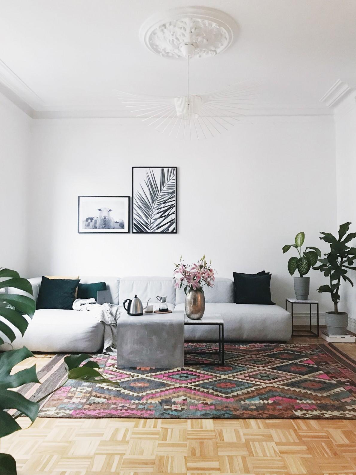 Die Schönsten Wohnzimmer Deko Ideen von Dekoration Für Wohnzimmer Photo