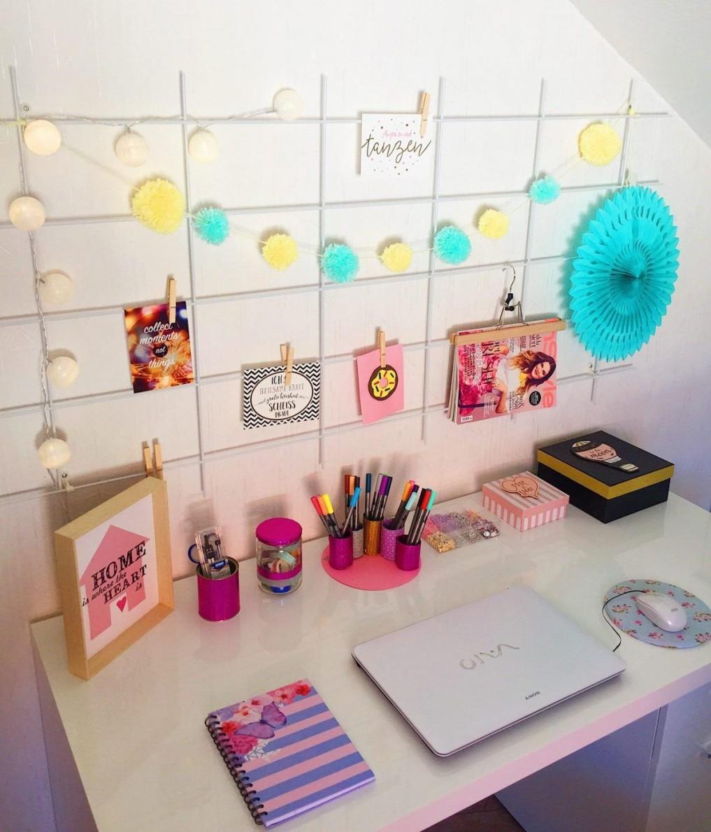 Drei Sommerliche Diy Und Deko Ideen Mit Pompons Selber von Dekoration Fürs Zimmer Bild