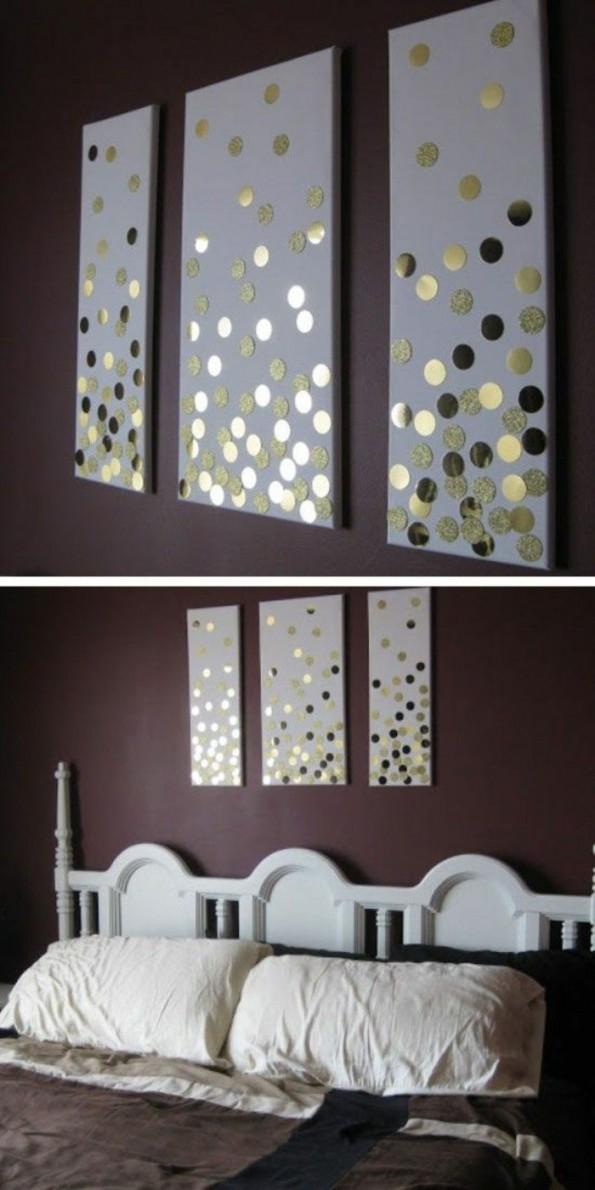▷ 1001 + Ideen Wie Sie Eine Kreative Wanddeko Selber von Dekoration Für Die Wand Bild