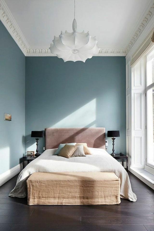 Einrichten Nach Den Neuen Wohntrends 2016  Schlafzimmer von Wandfarben Ideen Schlafzimmer Photo
