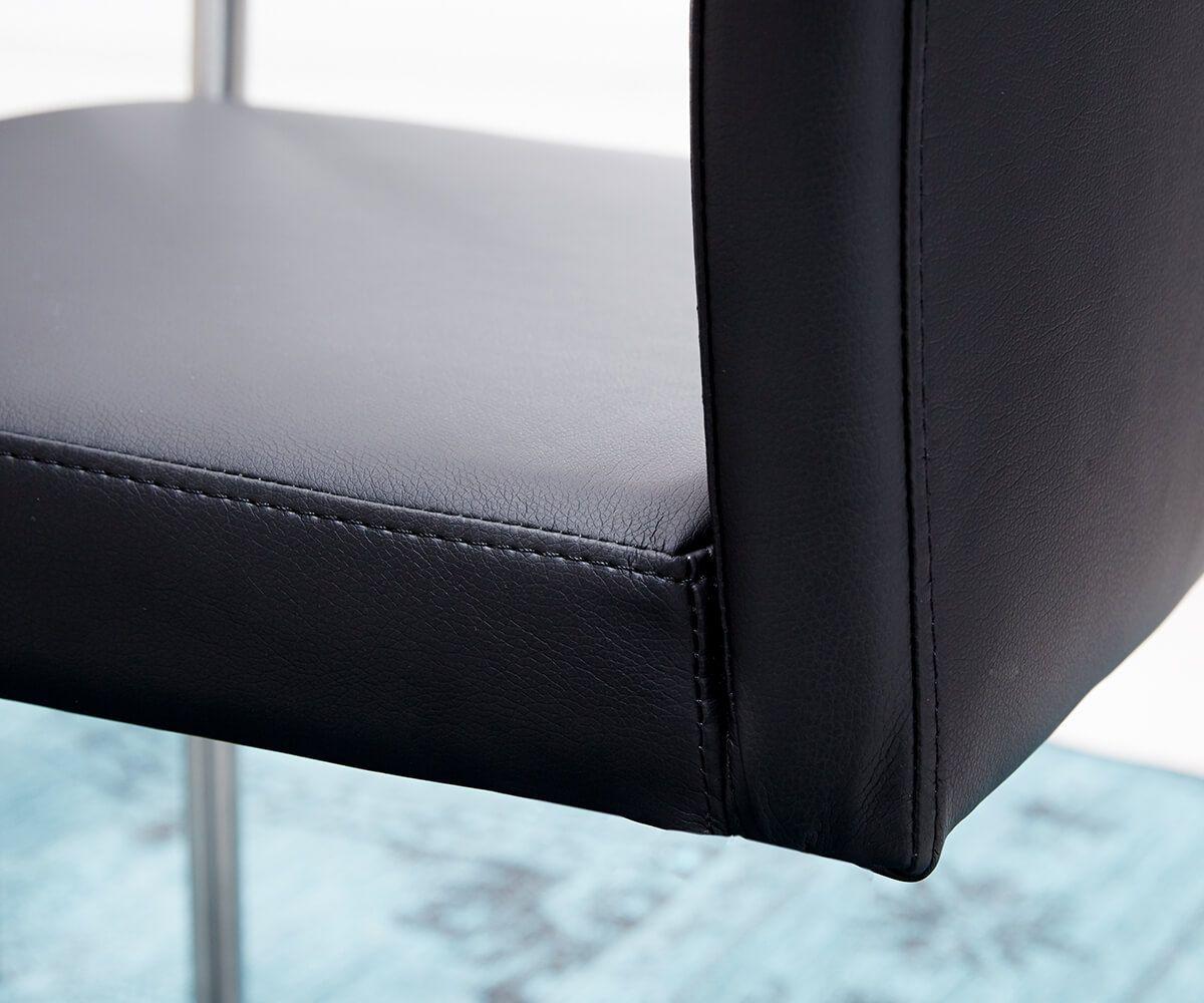 esszimmerstühle schwarz mit armlehne