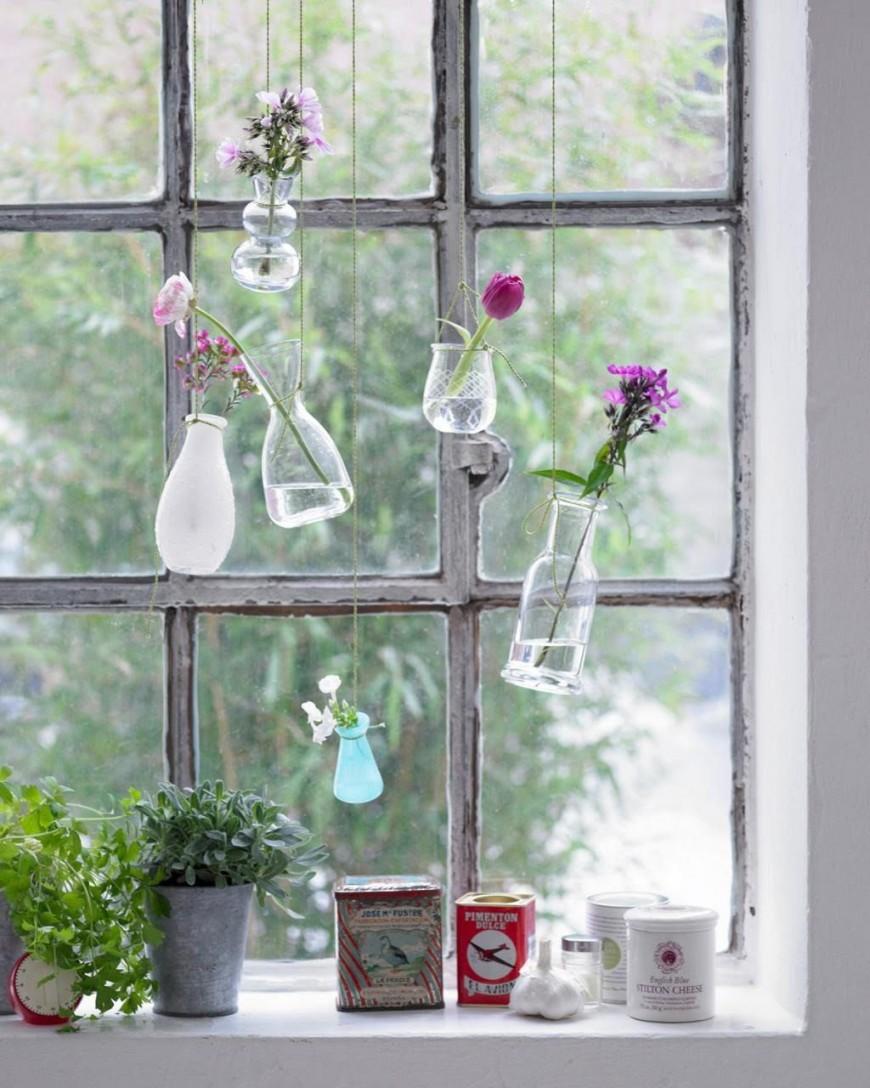 Fenster Dekorieren ▷ Dekoideen Für Das Fenster  Arts von Dekoration Für Fenster Bild