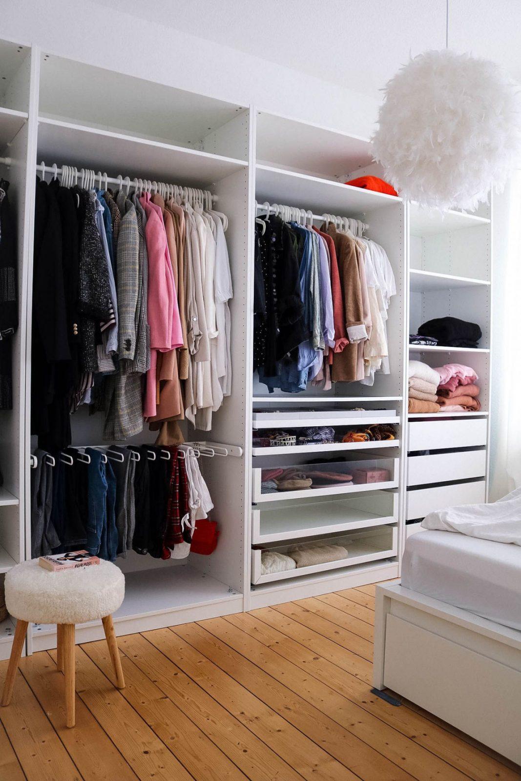 Flat Home Interior Ikea Pax Kleiderschrank Inspo Wohnung von Schlafzimmer Kleiderschrank Ideen Bild