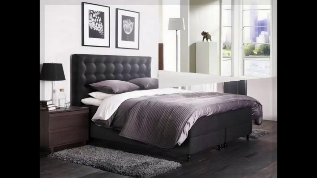 Genial Schlafzimmerideen Boxspringbett von Schlafzimmer Ideen Mit Boxspringbett Bild