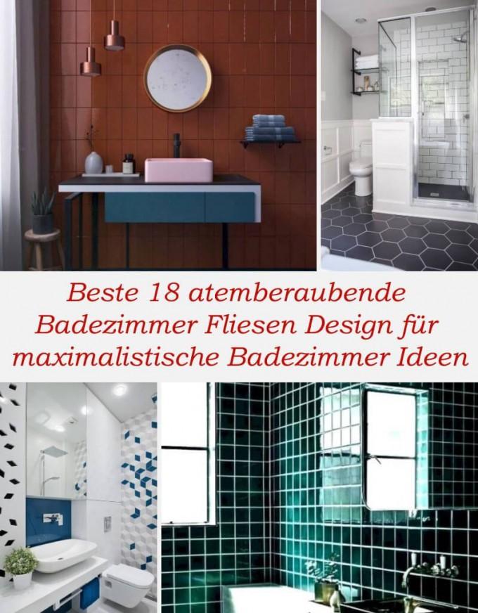 Hauswunderschon – Beste 18 Atemberaubende Badezimmer von Badezimmer Fliesen Design Ideen Photo
