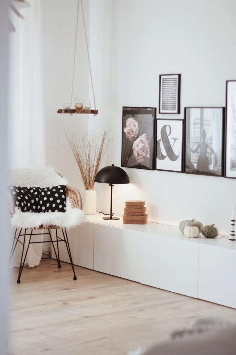 Herbstdeko So Wird Es Richtig Gemütlich von Schöne Dekoration Für Die Wohnung Bild