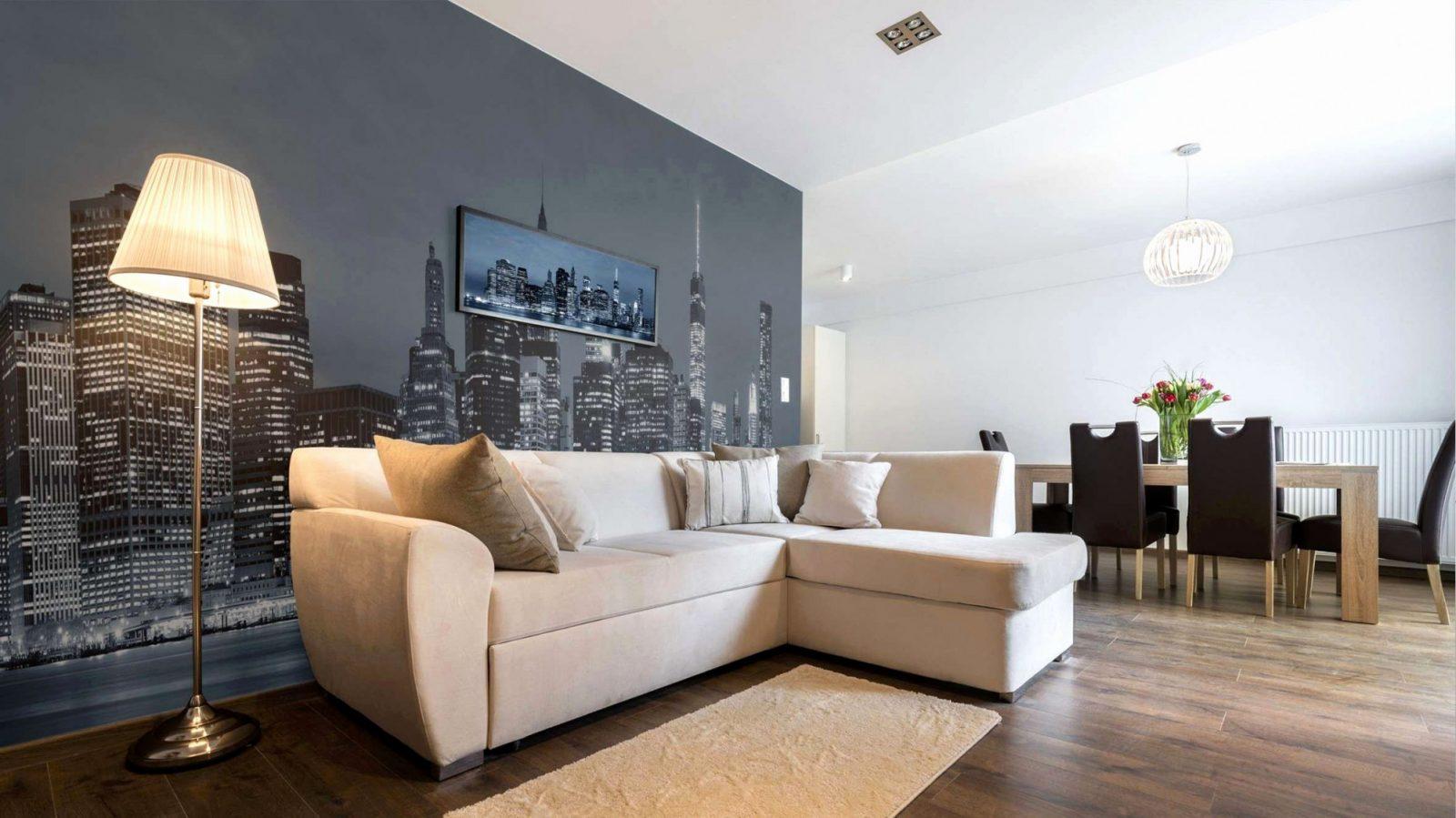 Holz Deko Wand Wohnzimmer von Dekoration Für Die Wand Bild
