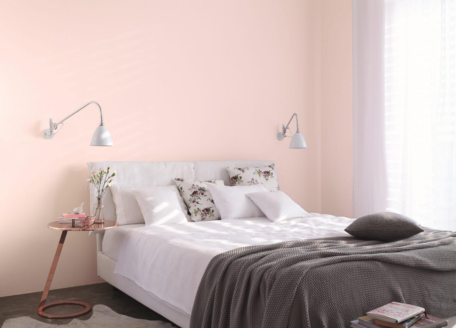 Ideen Für Die Gestaltung Vom Schlafzimmer Alpina Farbe von Schlafzimmer Wandfarbe Ideen Photo