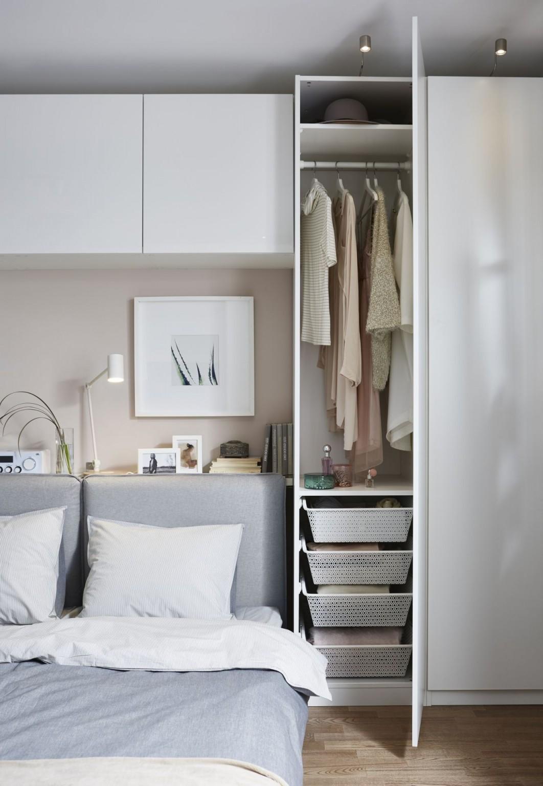 Ikea Deutschland  Man Kann Pax Und Bestå Super Kombinieren von Stauraum Schlafzimmer Ideen Photo