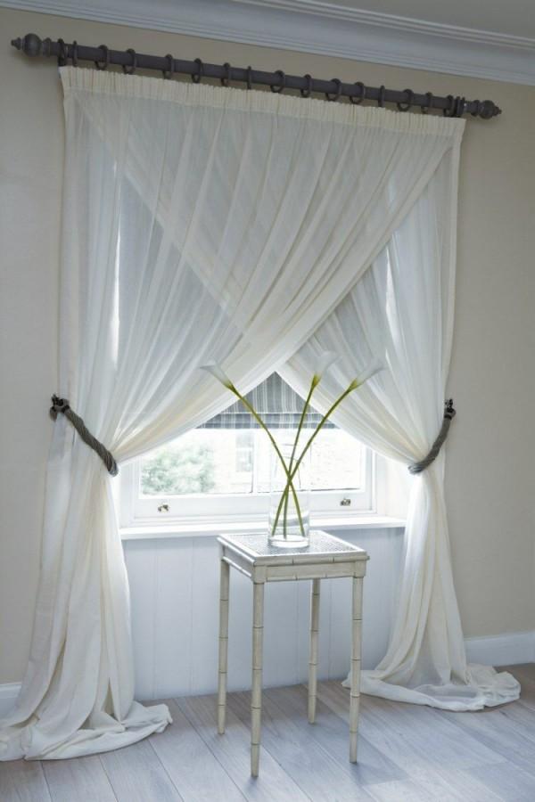Interessante Idee Zum Aufhängen Der Gardinen  Hogar von Vorhang Ideen Schlafzimmer Bild
