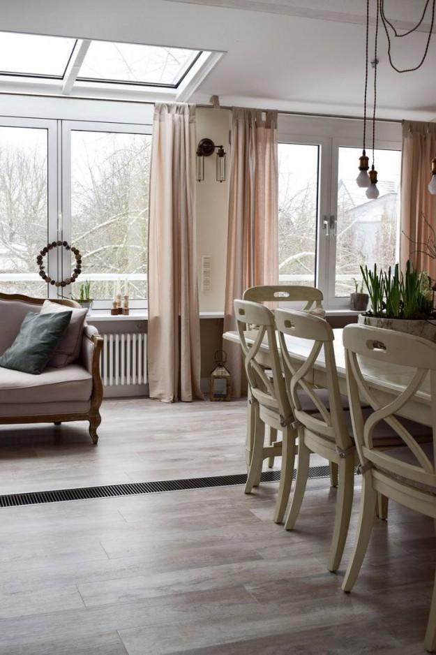 Interior Deko Esszimmer Farmhouse Landhausstil Diy von Einrichtung Landhausstil Dekoration Bild