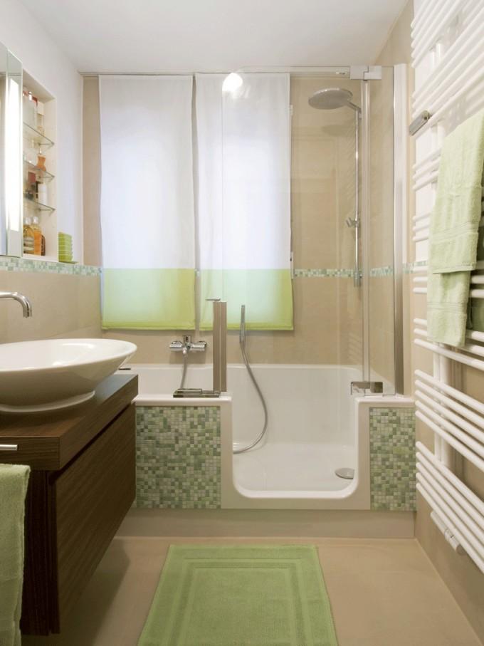 Kleine Bäder Gestalten ▷ Tipps  Tricks Für's Kleine Bad von Kleines Bad Renovieren Ideen Photo