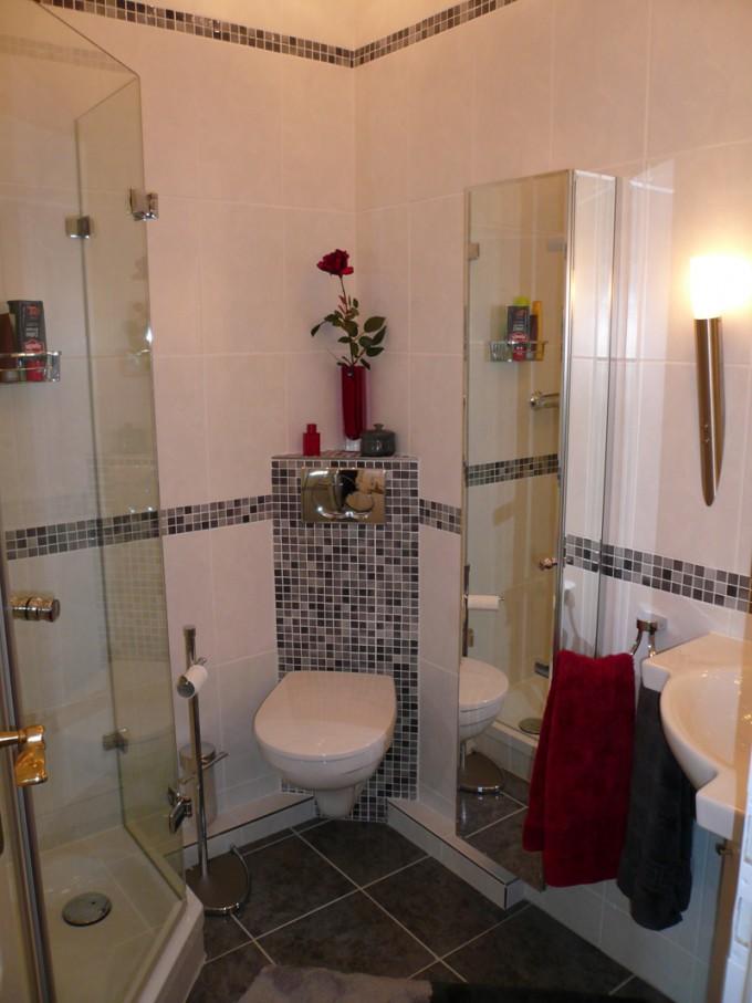 Kleine Bäder Gestalten ▷ Tipps  Tricks Für's Kleine Bad von Kleines Badezimmer Fliesen Ideen Photo