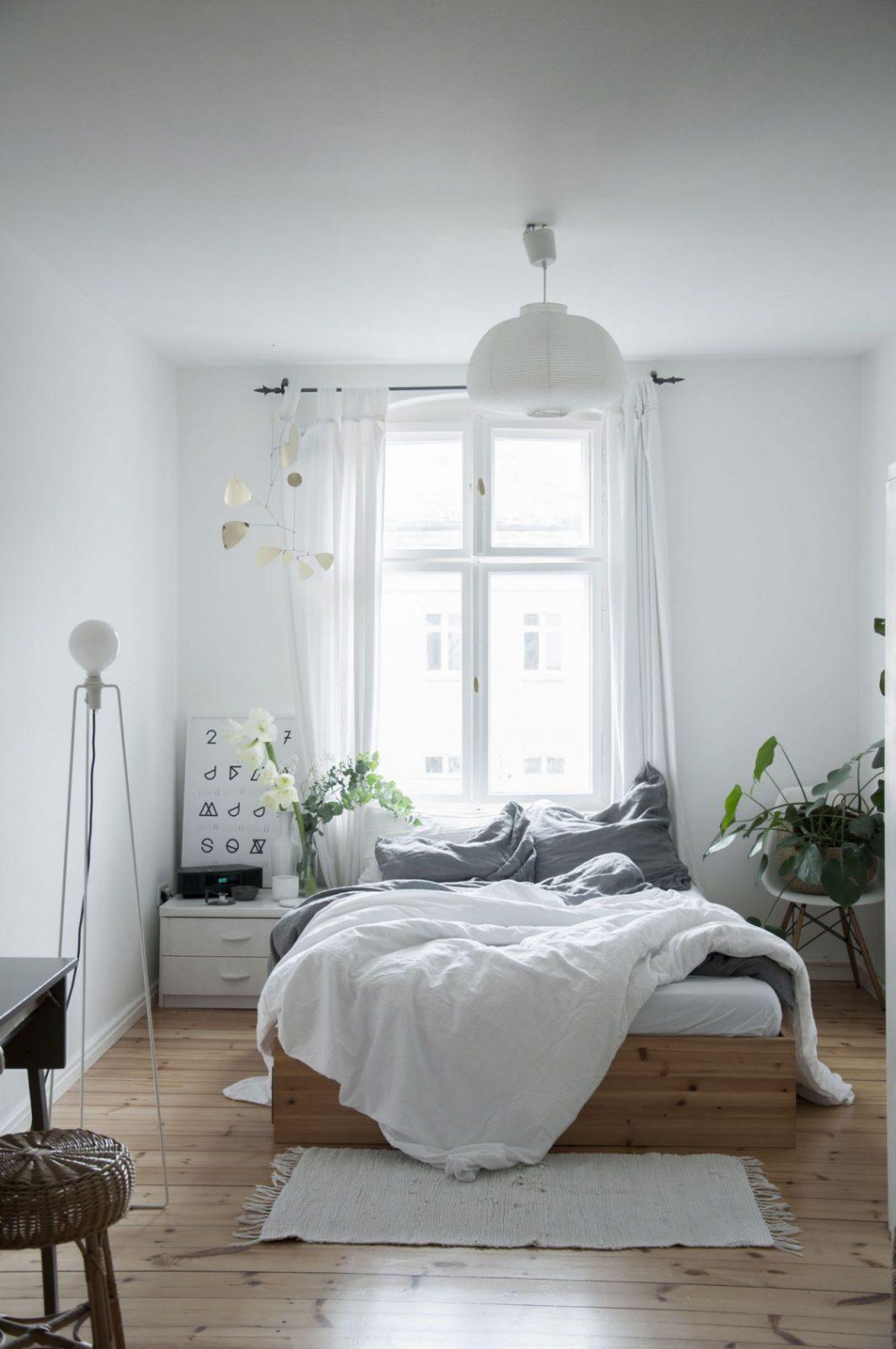Kleine Schlafzimmer Einrichten  Gestalten von Schlafzimmer Einrichten Ideen Bild