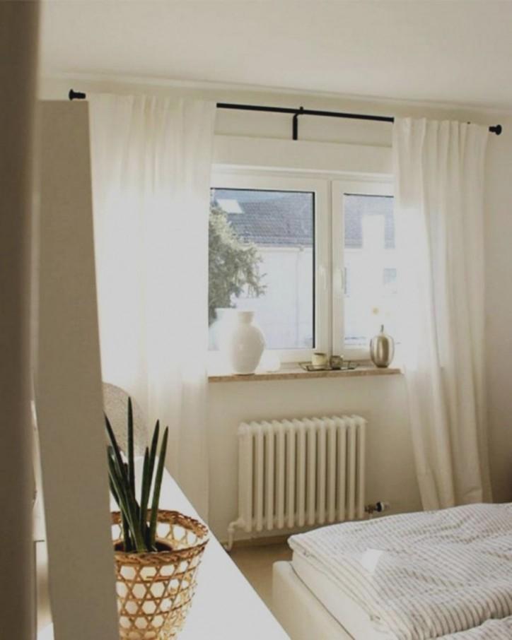Kurze Gardinen Für Schlafzimmer von Vorhänge Schlafzimmer Ideen Bild