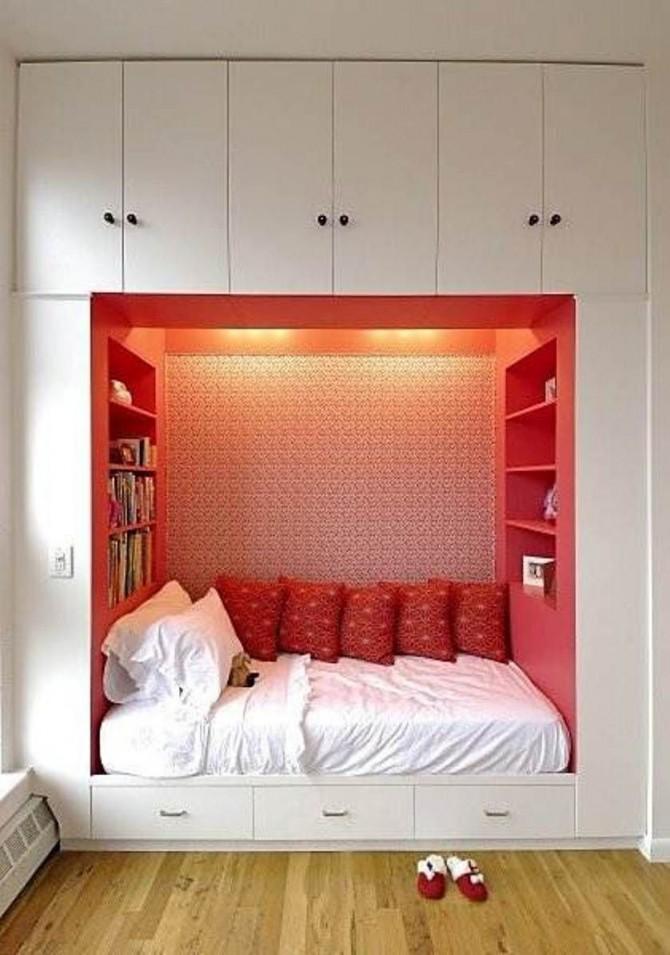 Lbh Einbaumöbel Schlafen Wohnzimmer Stauraum  Haus von Stauraum Ideen Schlafzimmer Bild